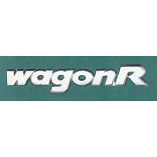 MARUTI SUZUKI Wagonr Car Monogram Chrome Monogram Emblem LogO