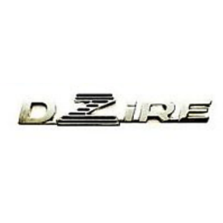 MARUTI SUZUKI SWIFT DZIRE Car Monogram Chrome Monogram Emblem Logo