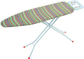 Eurostar Ironing Board Queen with Steel table top(Best for Ironing better than wooden table top) Dimensions 110 x 33 cms