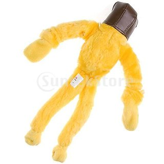 Slingshot Flingshot Flying Screaming Duck Toy - Yellow