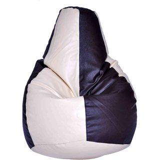 Cream & Brown Bean Bag Cover XLPCRMBRWNCOV