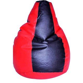 Red &Black Bean Bag Cover XXXLPREDBLKCOV