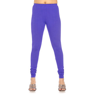 Stylobby Blue Cotton Lycra Legging