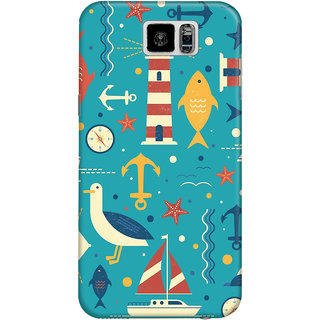 The Fappy Store underwater  plastic back cover for Samsung galaxy s6