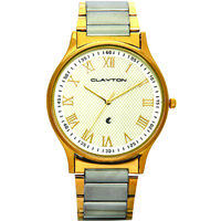 Clayton Two Tone Watch For Men's CPTT01