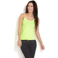 Neon Green Camisole Top