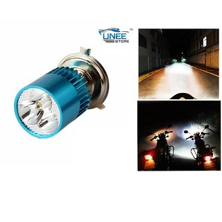 Cree Led Headlight Bulb Bike/Car White-Tvs Flame Ds125 (abc9482)
