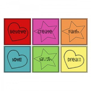 10 am Inspiration Words Coasters - Sunboard
