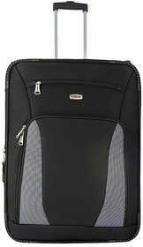 Morocco Upright 75 Cm Black 2 Wheel Trolley For Travel ( Check In - Large Luggage )