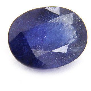 Be You 93 cts(1022 ratti) Indian Natural Oval Shape Blue Sapphire (Neelam) for Saturn(Shani)