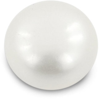 Be You 501 cts(551 ratti) Button Shape Pearl (Moti) for Moon(Chandra)