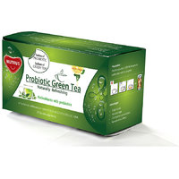 NUTRUS Probiotic Green Tea 20'sachets (Lemon) Pack Of 4