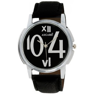 ASGARD SIL Analog Black Dial Mens Watch