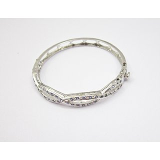 Bracelet with real silver(92.5) and natural tanzanite