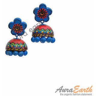 Terracotta Jhumka handmade