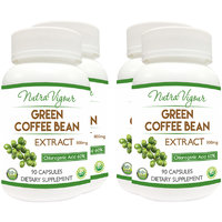 NutraVigour Green Coffee Bean Extract 60% GCA Weight Lo