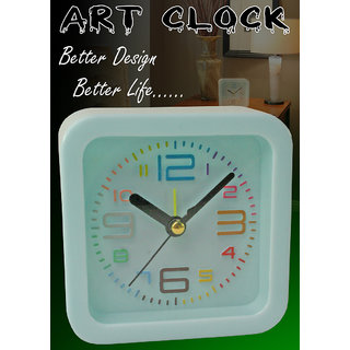 JM Exclusive Fashionable Table Wall Desk Clock Watches with Alarm - A15