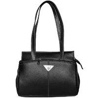 Trendy  Stylish Black Hand Bag - (SLOT)