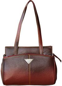 Trendy  Stylish Maroon Hand Bag - (SLOT)