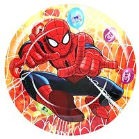 Spiderman  Theme 7 Disposable Paper Plate 6 Pcs Pack