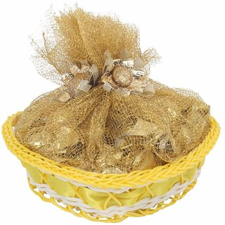 Chocoline Heart Shape Basket with Chocolates for Gifting and Occassion - 135 grams chocolates