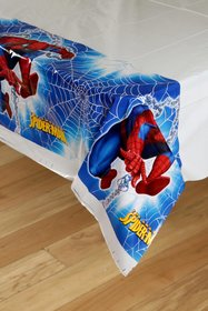 Spiderman Theme Plastic Cover Sheet 1 Pc Pack