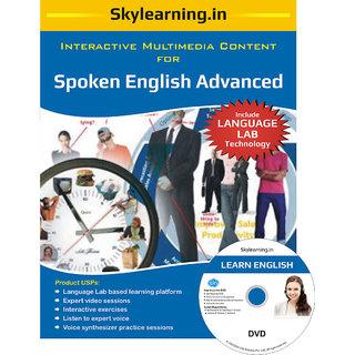 Spoken English Advanced CD/DVD Combo Pack