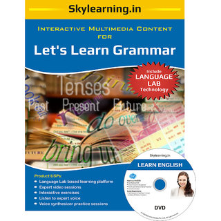 Lets Learn Grammar CD/DVD Combo Pack