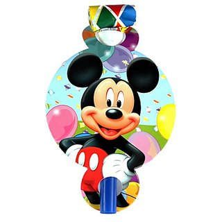 Mickey Mouse Theme blowouts (6 pcs/pack)