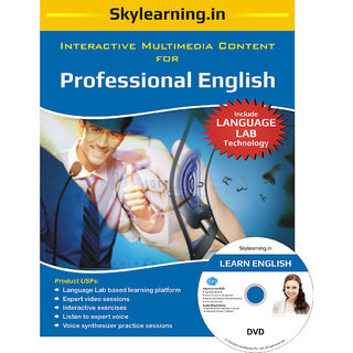 Professional English CD/DVD Combo Pack