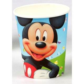 Mickey Mouse Theme 9oz paper cup (6 pcs/pack)