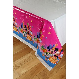 Mickey Mouse Theme Plastic Cover Sheet