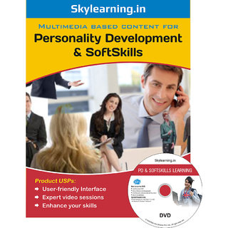 Personality Development  Soft Skills CD/DVD Combo Pack