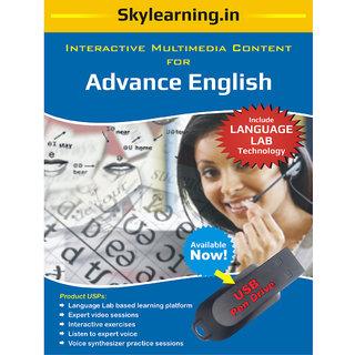 Advance English Pendrive Combo Pack