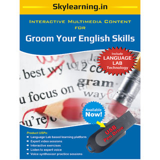 Groom Your English Skills Pendrive Combo Pack