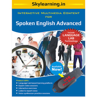 Spoken English Advanced Pendrive Combo Pack
