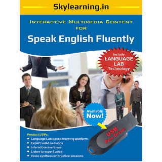 Speak English Fluently Pendrive Combo Pack