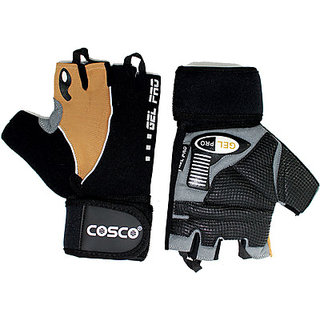 Cosco Gel Pro Gym  Fitness Gloves (M Multicolor)