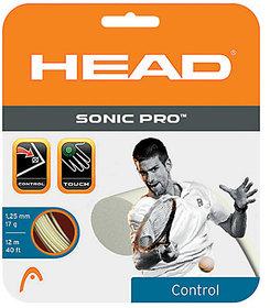 Head Sonic Pro 125 mm Tennis String - 12 m (Black)