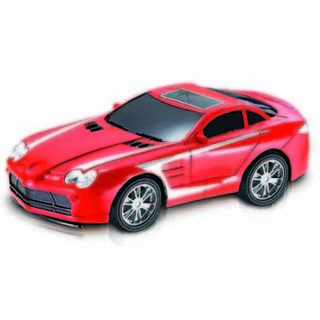 Majorette Full Function Speed Master Car Red (Multicolor)