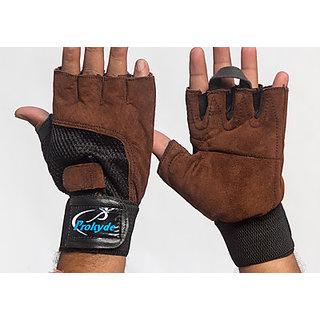 Prokyde Slam Gym  Fitness Gloves (M Brown)