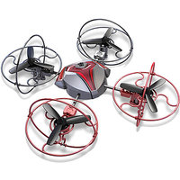 Silverlit R/C Space Comet (4 Ch + Gyro) Quadchopter (Red)