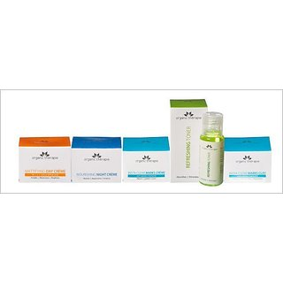 Miracle Complexion Combo-( MDC50gm, NNC50gm, RT50ml, ICMC50gm, ICMY50gm )