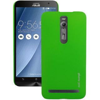 Asus Zenfone 2  Back Cover / Case - Cool Mango Premium Rubberized Back Cover for Asus Zenfone 2 - Funky Green