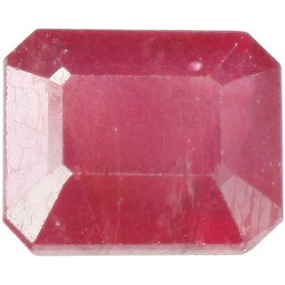 Saffire Dark Red 935 Grams Natural Ruby Gemstone In Emerald Step Cut