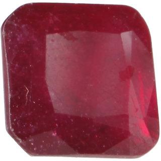 Saffire Dark Red 445 Grams Natural Ruby Gemstone In Emerald Step Cut