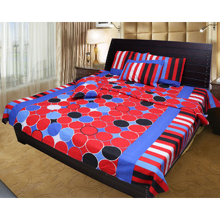 Akash Ganga Cotton Double Bedsheet (KM546)
