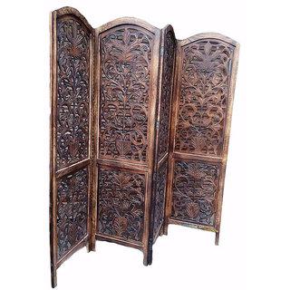 Buy National Handicrafts Wooden Screen Partition Divider Online