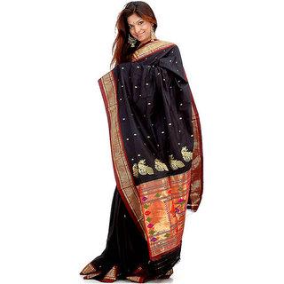 daf93450a4167 Buy Chaitanya Enterprises Beige Linen Self Design Saree With Blouse Online  - Get 29% Off