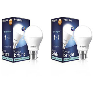 Buy Philips 9 Watt 14 Watt B22 Led Bulb Pack Of 2 Online ₹1245 From Shopclues